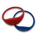 Popular pulseira de silicone RFID para controle de acesso
