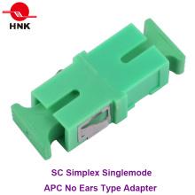 Sc Simplex Singlemode APC adaptateur fibre optique sans oreille