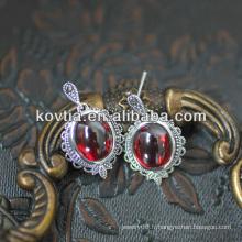 Charmante bijoux en rubis en grenat
