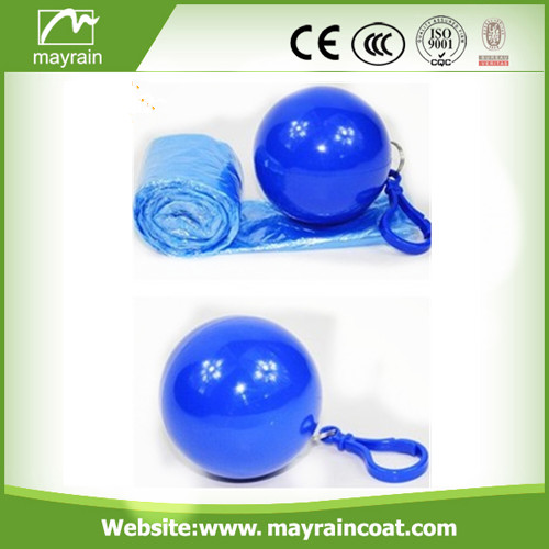 Ball Disposable PE Poncho
