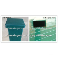 PVC Sprayed Stahl Zaun Post