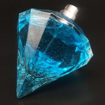 Forma de diamante de la botella de perfume del diamante 30ml