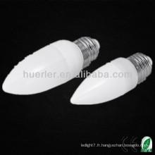 Haute qualité, bon prix e27 e14 b22 led candel light 1W