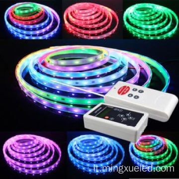 striscia flessibile digitale programmabile con 5v smd 5050 led strip