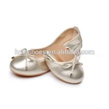 Mädchen rollen Ballerina Schuhe Großhandel 2016 Damen fancy flachen Tanz Schuh