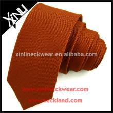 Jacquard Woven Polyester Krawatte Skinny für Männer