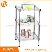 3 Tier Garage Organizer Metal Wire Display Shelf
