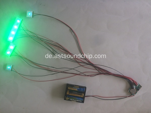 8 LED-Blinkmodul, Pop-Display-Blinker, LED-Lichtmodul