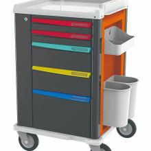 Medical ABS Emergency Trolley Crash Carts Clinical Trolley