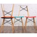 Taburete de madera de madera taburete silla de ocio