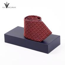 Laço de seda relativo à promoção das caixas de presentes da novidade ajustado para homens