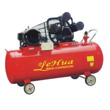 300L 8BAR 7.5HP 80MM 3 cilindro trifásico W tipo pistão compressor de ar com correia