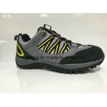 Daim gris cimenté des chaussures de sécurité (HQ0161033)