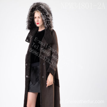 Senhora Austrália Merino Shearling Fur In Winter