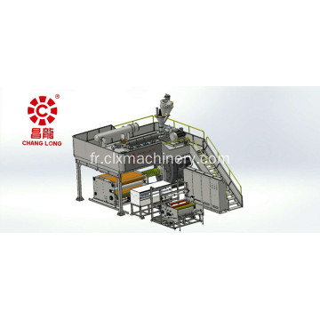 Vente chaude PP Meltblown Nonwoven Production Line