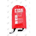 En1869 Fiberglas Fire Blanket Softbag