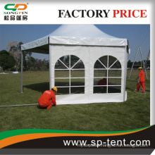 Elegant White PVC Farbric Structure hexagon Tent With Factory Price