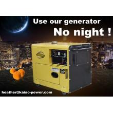 Luftgekühlter Dieselgenerator 5kw Generator Diesel Verkaufspreis (CE, BV, ISO9001)