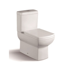 092A High Quality Two Piece Toilet with PP Slow Down Cover Seat