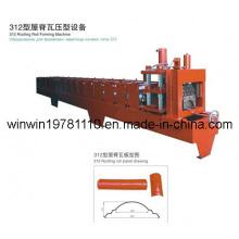 Machine de formage de panneaux de toiture ondulés au prix le plus bas