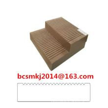 Decking composto Crack-Resistente de WPC para o assoalho exterior do uso