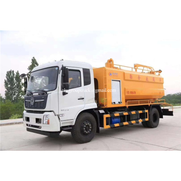 210hp vacuum pump sewer dredging and sewage disposal truck