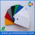 Folha de espuma amarela / vermelha / azul de PVC