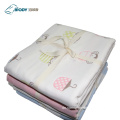 Kundenspezifisches Logo Animal Printed Baby Multilayer Blanket