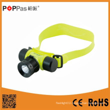 Poppas Ft50 Super Bright Waterproof Sos Rechargerable Diving Headlamp