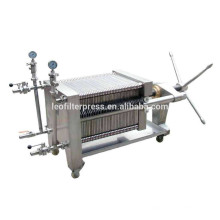 Leo Filter Press Stainless Steel Plate and Frame Hydraulic Filter Press