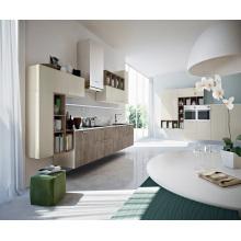 Open Kitchen Lacquer Mélamine Armoires de cuisine