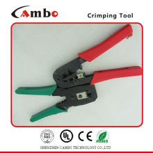 China Manufacturing mechanical cable lug crimping tools Ethernet LAN Cable 4P4C 6P6C 8P8C