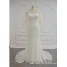 Vestido de boda de la sirena del vestido de boda de la última moda de la última moda 2017