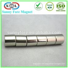 heißer Verkauf diametral magnetisierte Zylinder Neodym-Magneten