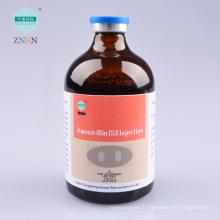 Échantillon gratuit ZNSN Amoxicilline 15% Injection