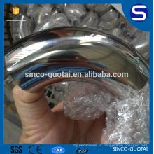 SMS ISO 3A 304 316 Encaixe de Tubulação Sanitária