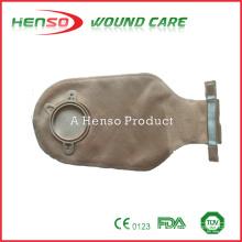 Bolsa de drenagem de duas peças HENSO com fecho de amarração