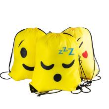 Wholesale grocery  Acceptable Custom Logo Hot Sell  Drawstring packaging Bags Bundle pocket bag