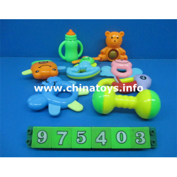 Newest Plastic Baby Bell Set Educational Toys (975403)