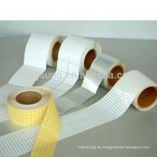 factory price customize blank plain sticker label wholesale