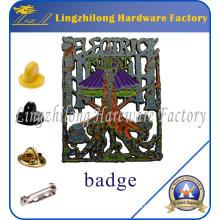 Insignias de esmalte de aleación de zinc personalizado