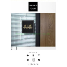 Customized Acrylic Door Plate House Number Holder