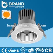 2016 Новый дизайн алюминиевый Dimmable COB Светодиодный светильник 12W, CE RoHS