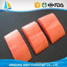 Très bon goût, le filet de saumon de la meilleure qualité est neuf