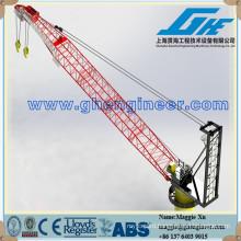 double winch jib fixed portal crane