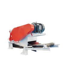 Automatic Wood Drum Chipper with Conveyor Belt