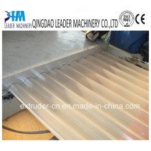 Linha de produção ondulada da folha do telhado do PVC