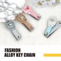 Animal polyresin fashion key chain