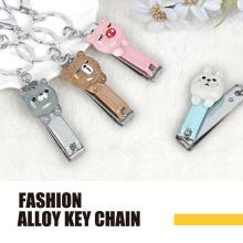 Tierpolyresin Mode Schlüsselanhänger