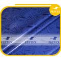 Best-Selling Brocade Guinea Damasco Shadda tela de algodón Bazin Riche ropa africana 5 metros / bolsa de material suave
